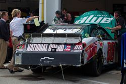 Dale Earnhardt Jr., Hendrick Motorsports Chevrolet na crash