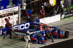 Passage aux stands pour Max Papis, Germain Racing Toyota