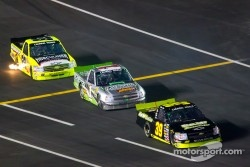Ryan Sieg, Chevrolet, Jeffrey Earnhardt, Rick Ware Racing Chevrolet, Matt Crafton, ThorSport Racing Chevrolet