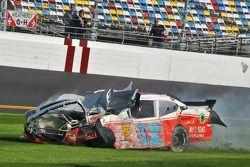 Bobby Santos, Chevrolet crashes