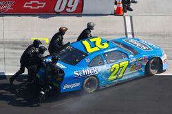 J.R. Fitzpatrick, Curb Ford out early in the race