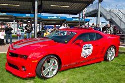 Voorstelling 2011 Daytona 500 Chevrolet Camaro SS pace car
