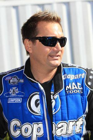 Top Fuel rijder Brandon Bernstein