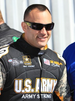 Top Fuel rijder Tony Schumacher