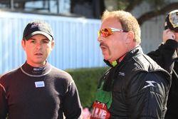 Top Fuel rijders Steve Torrance en Terry McMilen