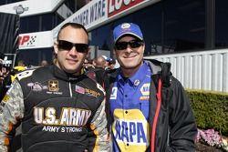 Tony Schumacher et Ron Capps