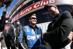 Top Fuel rijder Brandon Bernstein en Bob Vandergriff