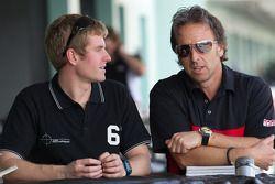 Mark Wilkins en Calvin Fish