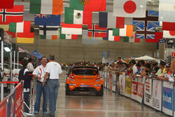 Хеннинг Сольберг и Илка Минор Ford Fiesta RS WRC, M-Sport Stobart Ford World Rally Team