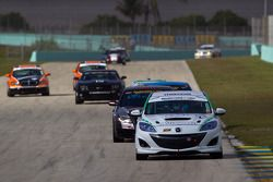 #27 Freedom Autosport Mazda Speed 3: Eric Foss, Brad Rampelberg