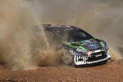 Ken Block et Alex Gelsomino, Ford Fiesta WRC, Monster World Rally Team