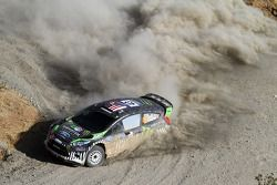 Ken Block et Alex Gelsomino, Ford Fiesta WRC, Monster World Rally Team