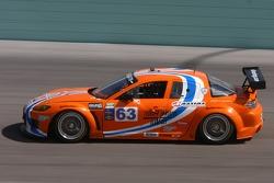 #63 Team Spencer Motorsports Mazda RX-8: Richard Grupp, Owen Trinkler