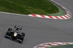 Davide Valsecchi, test driver, Lotus F1 Team