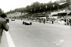 Phil Hill im Ferrari 156