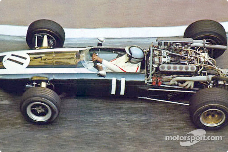 Pedro Rodríguez en un Cooper-Maserati