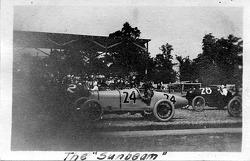 1921 Indy 500: #24 Jimmy Murphy; #2 Tommy Milton; #28 C. W. Van Ranst