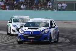 #31 i-MOTO Mazda Speed 3: Mark Pombo, Mathew Pombo