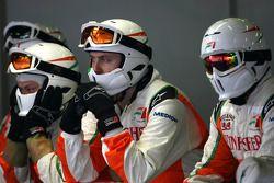Force India F1 Team mechanics