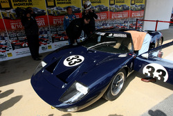 Adrian Newey, Red Bull Racing, Technical Operations Director drives a Gord GT40 to promote spirit of Montjuic