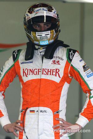 Адриан Сутиль, Force India