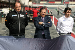Hispania Racing F1 Team voorstelling F111, Colin Kolles, Hispania Racing Team, Team Principal, Jose