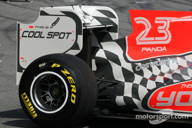 Hispania Racing F1 Team voorstelling F111