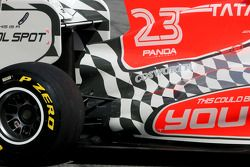Hispania Racing F1 Team F111: Heckpartie