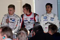 From Left: Kevin Magnussen, William Buller Jazeman Jaafar