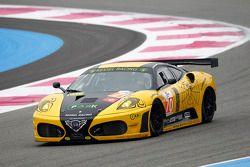 #70 Kessel Racing Ferrari F458 Italia: Michal Bromiszewski, Philipp Peter