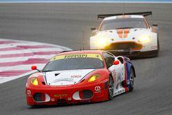#82 CRS Racing Ferrari F430: Klaas Hummel, Adam Christidoulou, Phil Quaife
