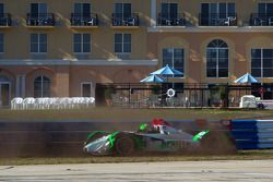 #018 Performance Tech Motorsports Oreca FLM09: Anthony Nicolosi, Jarret Boon, Jan-Dirk Leuders crashes