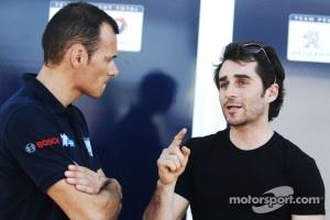 Stephane Sarrazin and Nicolas Prost at Sebring 2011