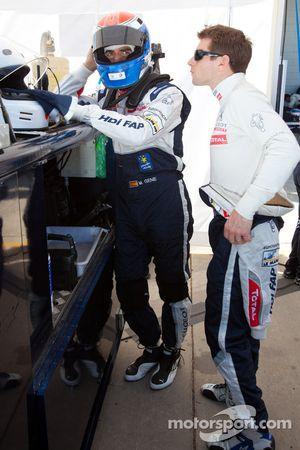 Marc Gene en Anthony Davidson