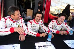 Jean-Denis Deletraz, Stéphane Ortelli en Frederic Makowiecki