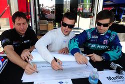 Wolf Henzler, Bryan Sellers and Martin Ragginger