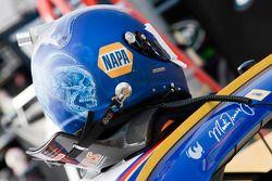 Casco de Martin Truex Jr., Michael Waltrip Racing Toyota