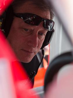 Earnhardt Ganassi Racing Chevrolet crew member