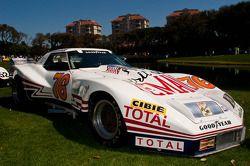 #189 Chevrolet Greenwood Widebody Corvette de 1976 : Golden Brothers Racing