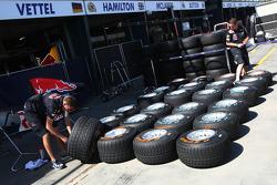 Red Bull Racing, Pirelli tyres