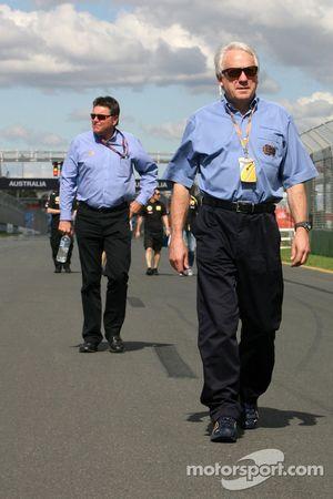 Charlie Whitting, FIA