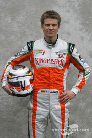 Nico Hulkenberg, Test Pilotu, Force India