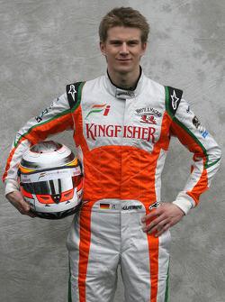 Nico Hulkenberg, pilote d'essais, Force India