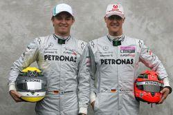Nico Rosberg, Mercedes GP ve Michael Schumacher, Mercedes GP