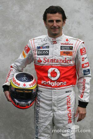 Pedro de la Rosa, Test Pilotu, McLaren Mercedes