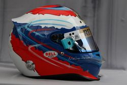 Helmet, Vitaly Petrov, Lotus Renalut F1 Team
