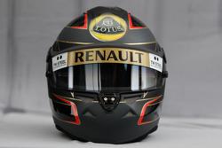 Helmet of Nick Heidfeld, Lotus Renault F1 Team