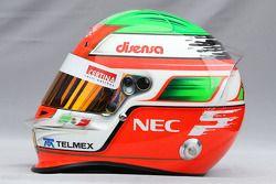 Helmet of Sergio Pérez, Sauber F1 Team