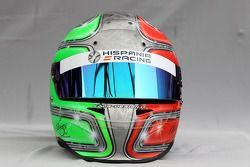 Helmet, Vitantonio Liuzzi, Hispania Racing Team, HRT