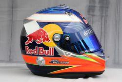 Helmet of Daniel Ricciardo (AUS) Test Driver, Scuderia Toro Rosso